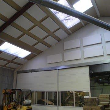 Akustik i Produktionshal